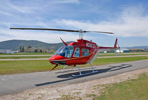 Bell 206B3 Jet Ranger with 135 and 133 certificates For Sale