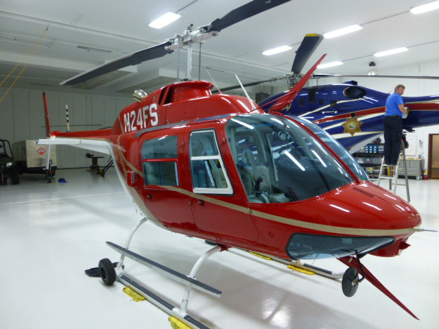 1976 Bell 206B3 Jet Ranger with 135 and 133 certificates For