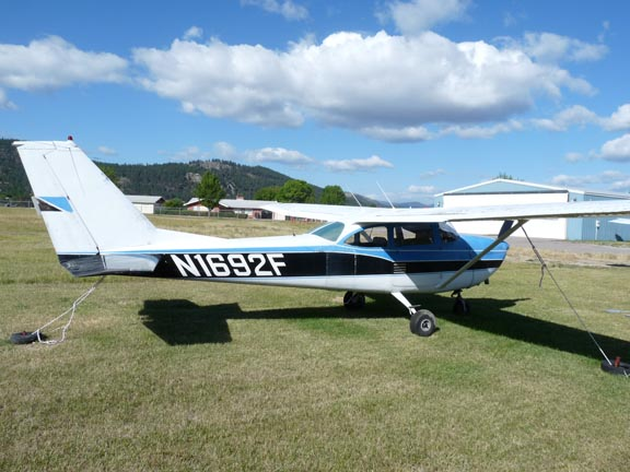 1967 Cessna 172H For Sale at The Plane Exchange by Bruce Tulloch
