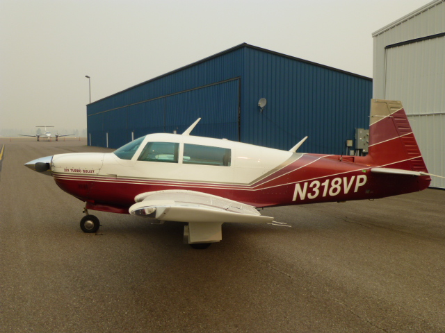 1980 Mooney M20j 201 Turbo Bullet For Sale At The Plane Exchange
